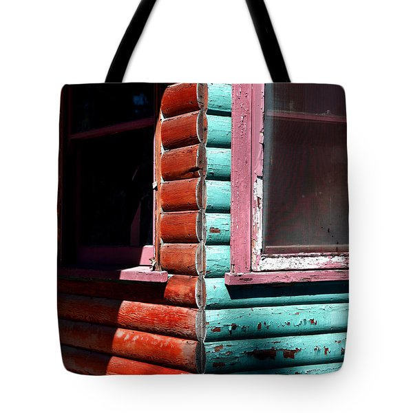 Cabin Fever Tote Bag by Lon Casler Bixby
