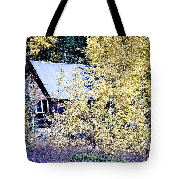 Cabin Hideaway Tote Bag by James BO  Insogna