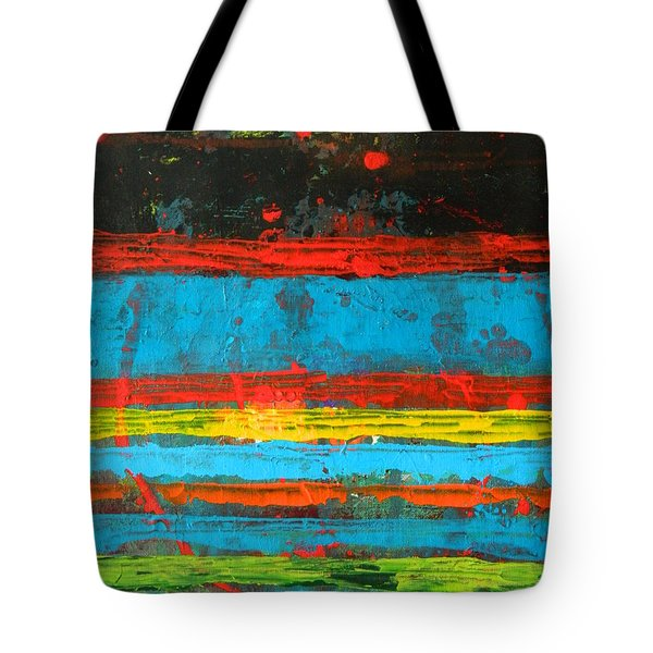 Tote Bag featuring the painting Cabo by Everette McMahan jr