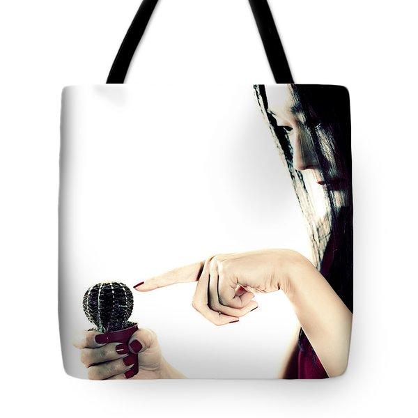 Cactus Tote Bag by Joana Kruse