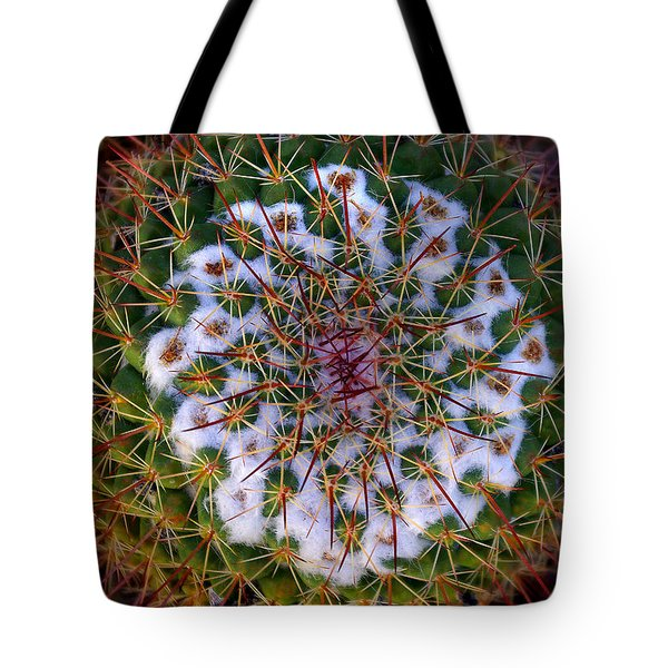 Cactus Radiance Tote Bag by Vicki Pelham