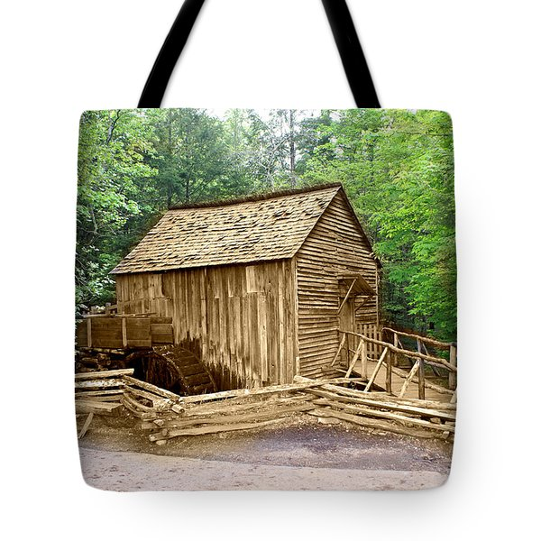 Cades Cove Mill Tote Bag by Marty Koch