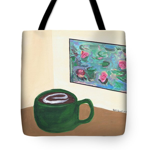 Cafe Monet Tote Bag