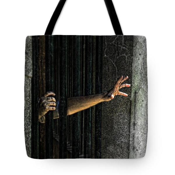 Caged 3 Tote Bag by Jill Battaglia