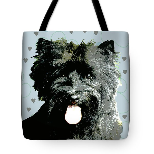 Cairn Terrier Tote Bag by One Rude Dawg Orcutt