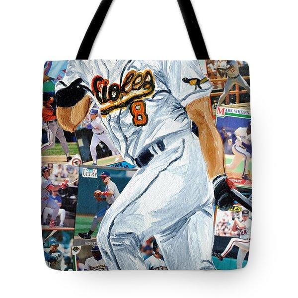 Cal Ripkin Jr Tote Bag by Michael Lee