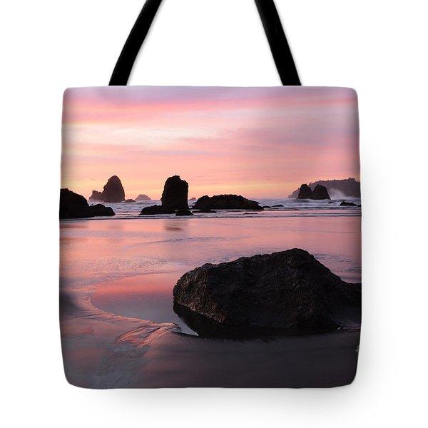 California Coast 3 Tote Bag by Bob Christopher
