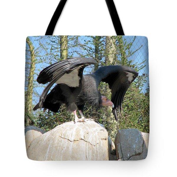 California Condor Tote Bag by Carla Parris