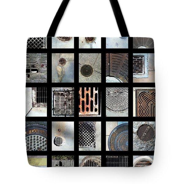 California Drainin' Tote Bag by Marlene Burns