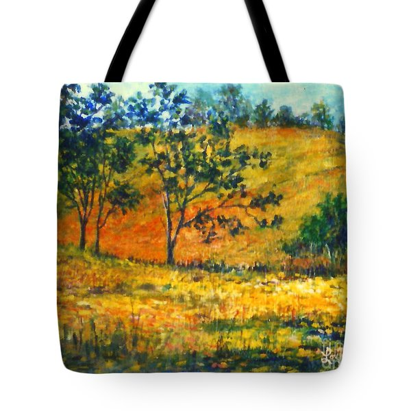 California  Fields Tote Bag