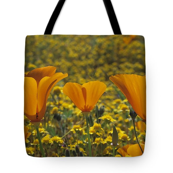 California Gold Tote Bag