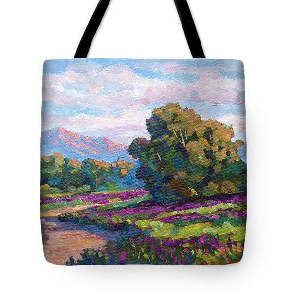 California Hills - Plein Air Tote Bag