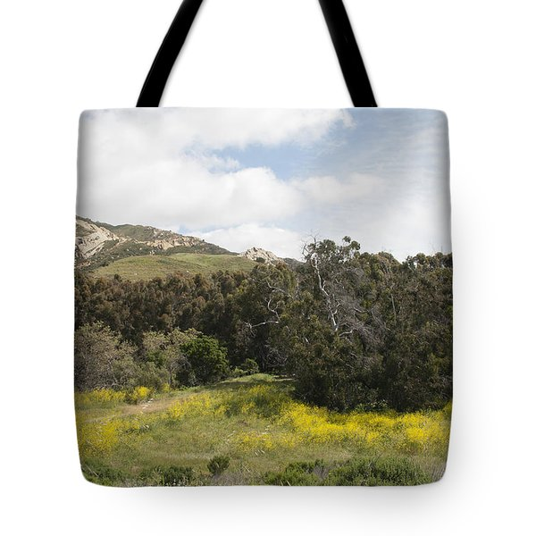 California Hillside View IIi Tote Bag by Kathleen Grace