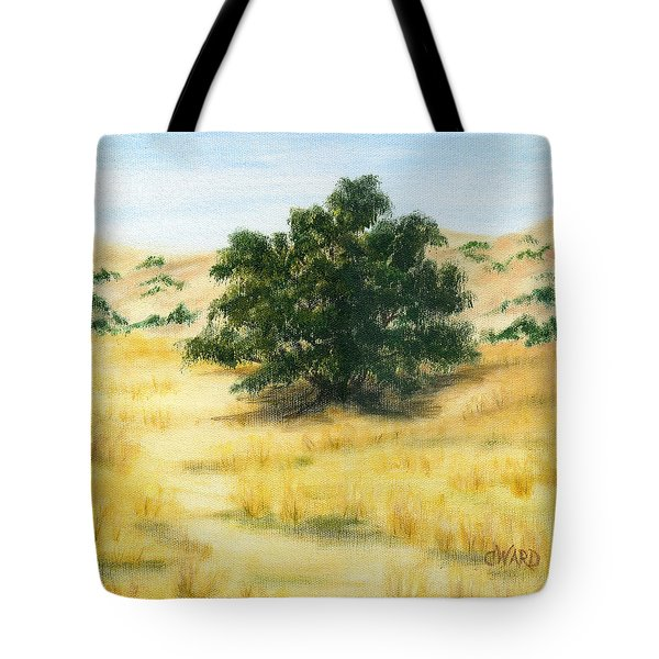 California Oak Tote Bag by Colleen Ward