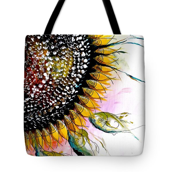 California Sunflower Tote Bag