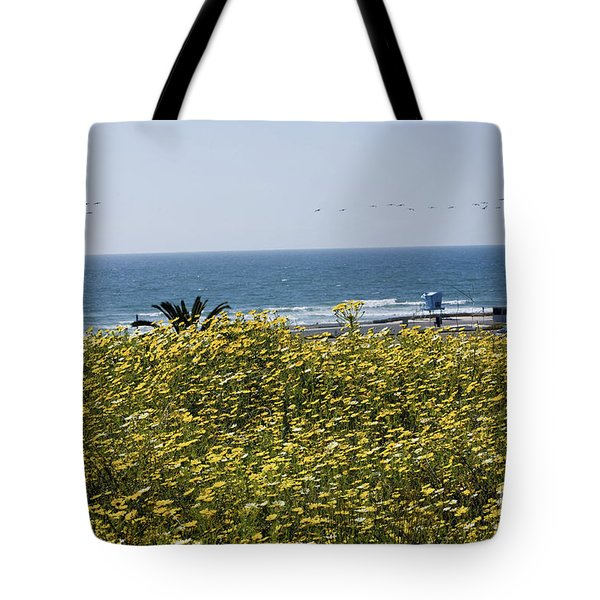 California Wildflowers Tote Bag by Daniel  Knighton