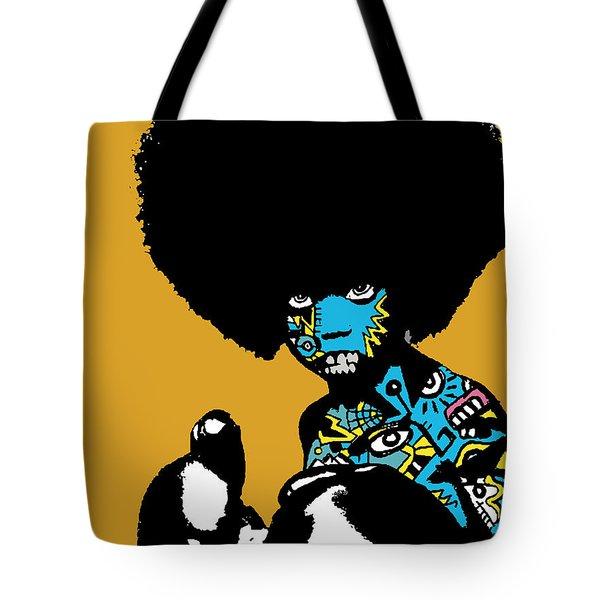 Call Of The Child Full Color Tote Bag by Kamoni Khem