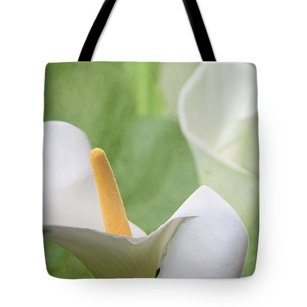 Calla Lilies Tote Bag by Alyce Taylor