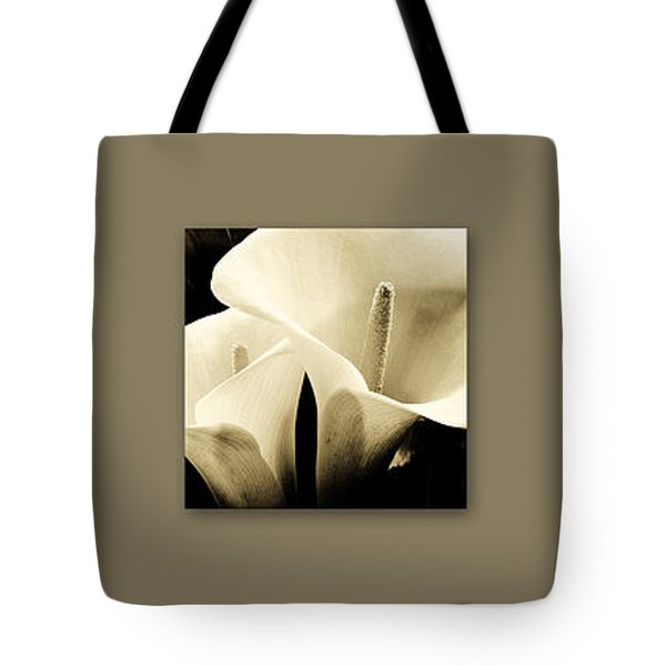 Calla Lilies Art Tote Bag