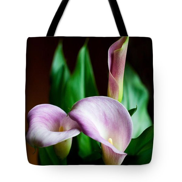 Tote Bag featuring the photograph Calla Lily by Barbara McMahon