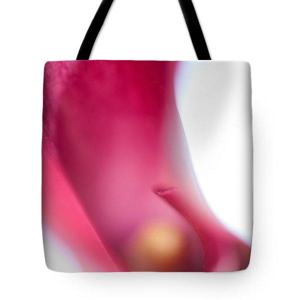 Calla Lily. Illuminated Tote Bag by Jenny Rainbow