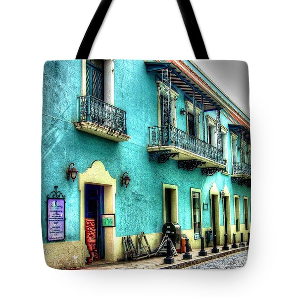 Calle Cristo Tote Bag by Debbi Granruth