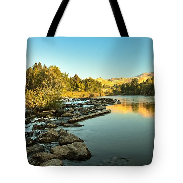 Calm Payette Tote Bag by Robert Bales