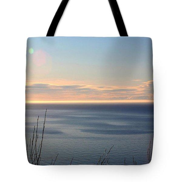 Calm Sea Tote Bag by Michele Cornelius