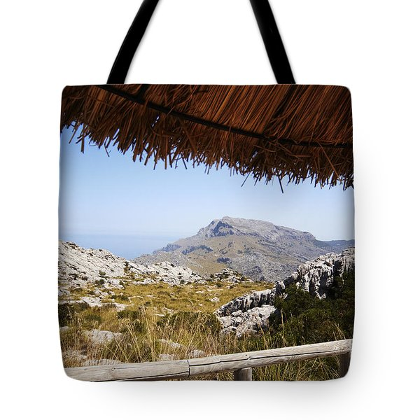 Calobras Road Tote Bag