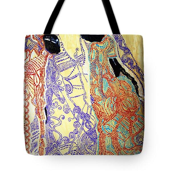 Calvary Tote Bag by Gloria Ssali