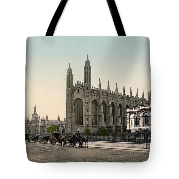 Cambridge - England - Kings College Tote Bag by International  Images
