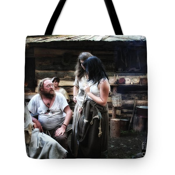 Camp Life Tote Bag by Jutta Maria Pusl