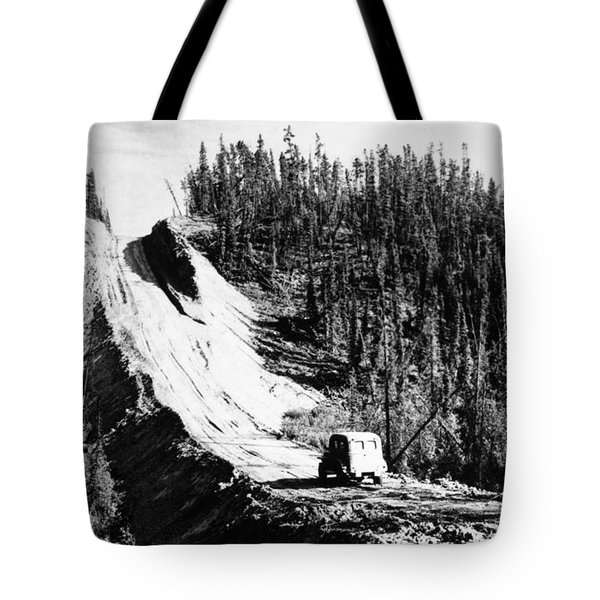 Canada: Alaska Highway Tote Bag by Granger