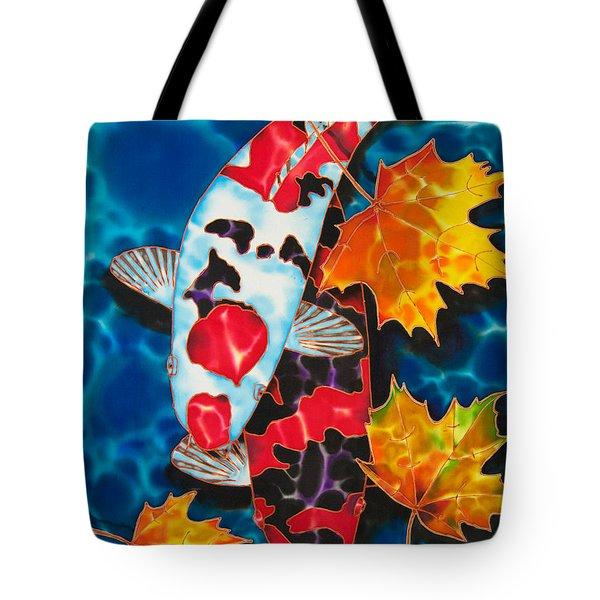Canadian Koi Tote Bag by Daniel Jean-Baptiste