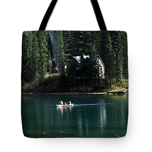 Canadian Rockies Tote Bag by John Doornkamp