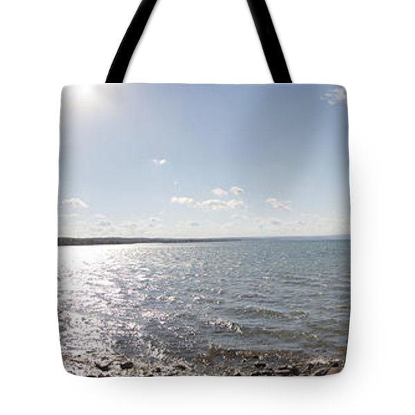 Tote Bag featuring the photograph Canandaigua Lake Panorama by William Norton