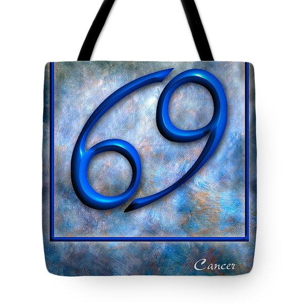 Cancer  Tote Bag by Mauro Celotti