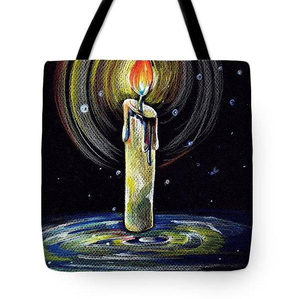 Candel On The Water  Tote Bag