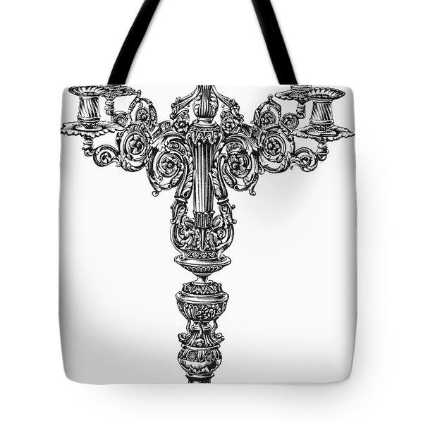 Candelabra Tote Bag by Granger