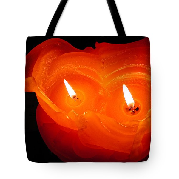Tote Bag featuring the photograph Candle Photo by Colette V Hera  Guggenheim