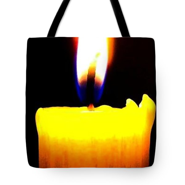 Candle Power Tote Bag by Will Borden
