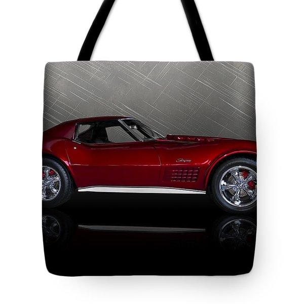 Candy Apple Corvette Tote Bag