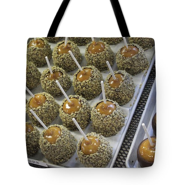 Candy Apples Tote Bag by Bill Owen