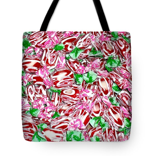 Candy Is Dandy Tote Bag by Beth Saffer