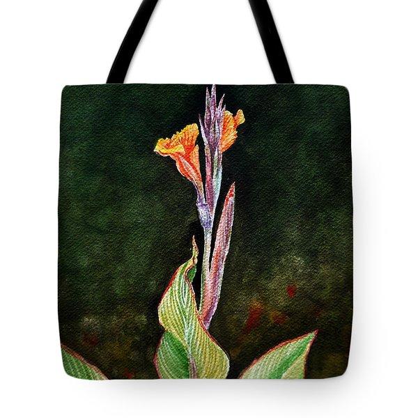 Canna Lily Tote Bag by Irina Sztukowski