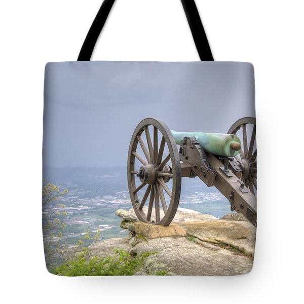 Cannon 2 Tote Bag by David Troxel
