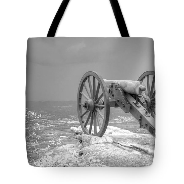 Cannon Tote Bag by David Troxel