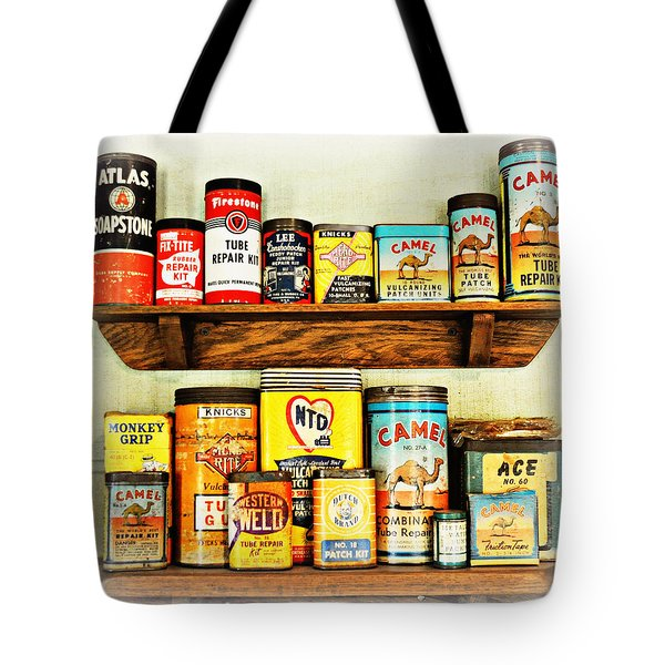 Cans Of Old Tote Bag by Marty Koch