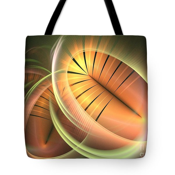 Canteloupe Tote Bag by Kim Sy Ok