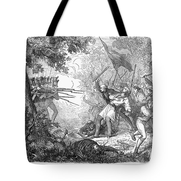 Canterbury Riot, 1838 Tote Bag by Granger